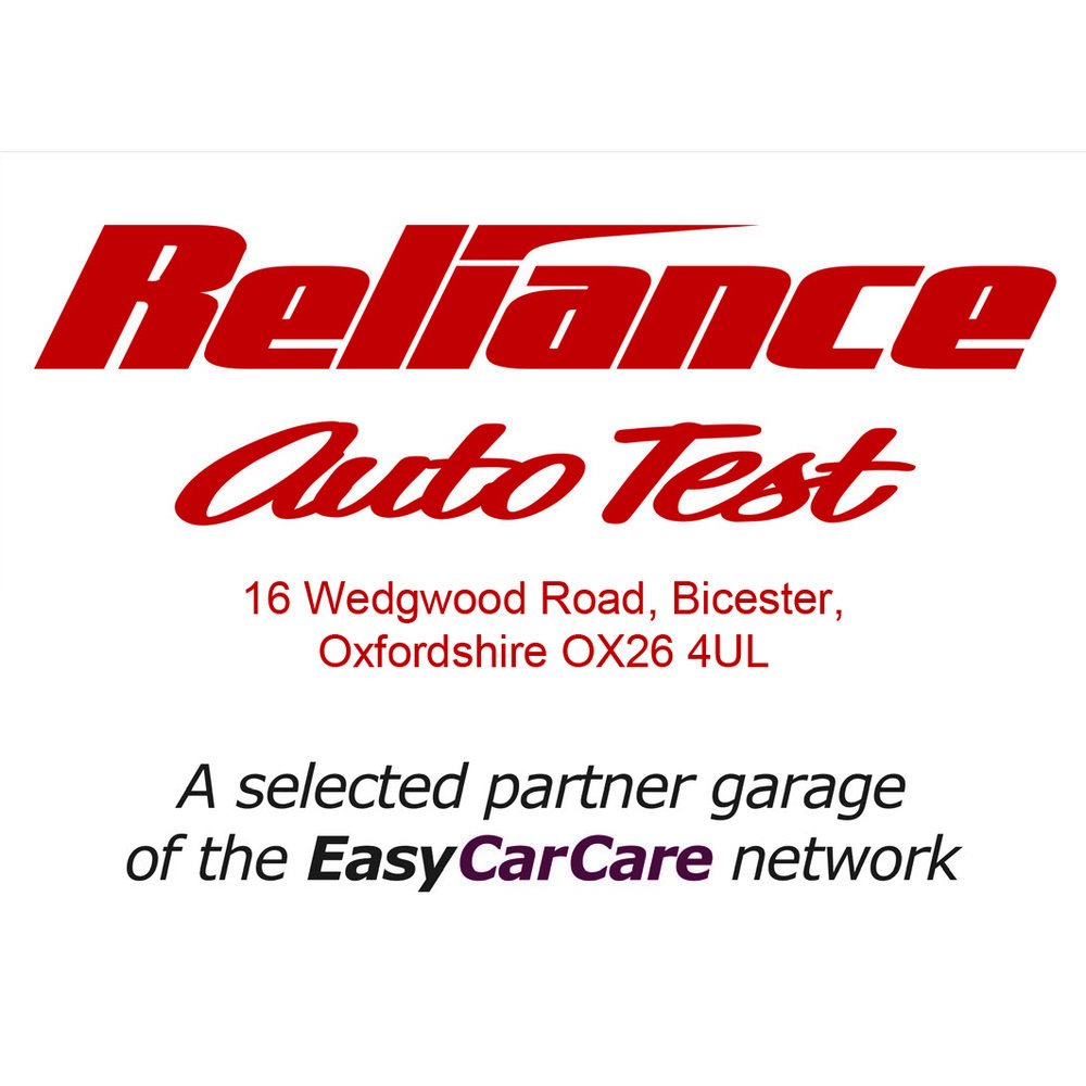 Reliance Auto Test is proud to be a selected Partner Garage of the EasyCarCare Network