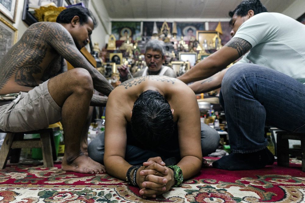 tattoo sak yant religious