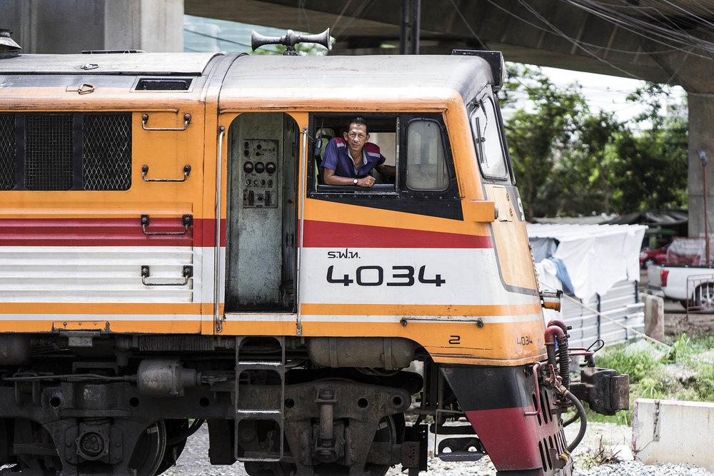 train driver, ayutthaya