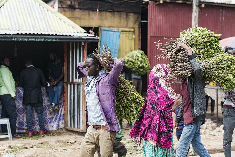 chats market aweday ethiopia