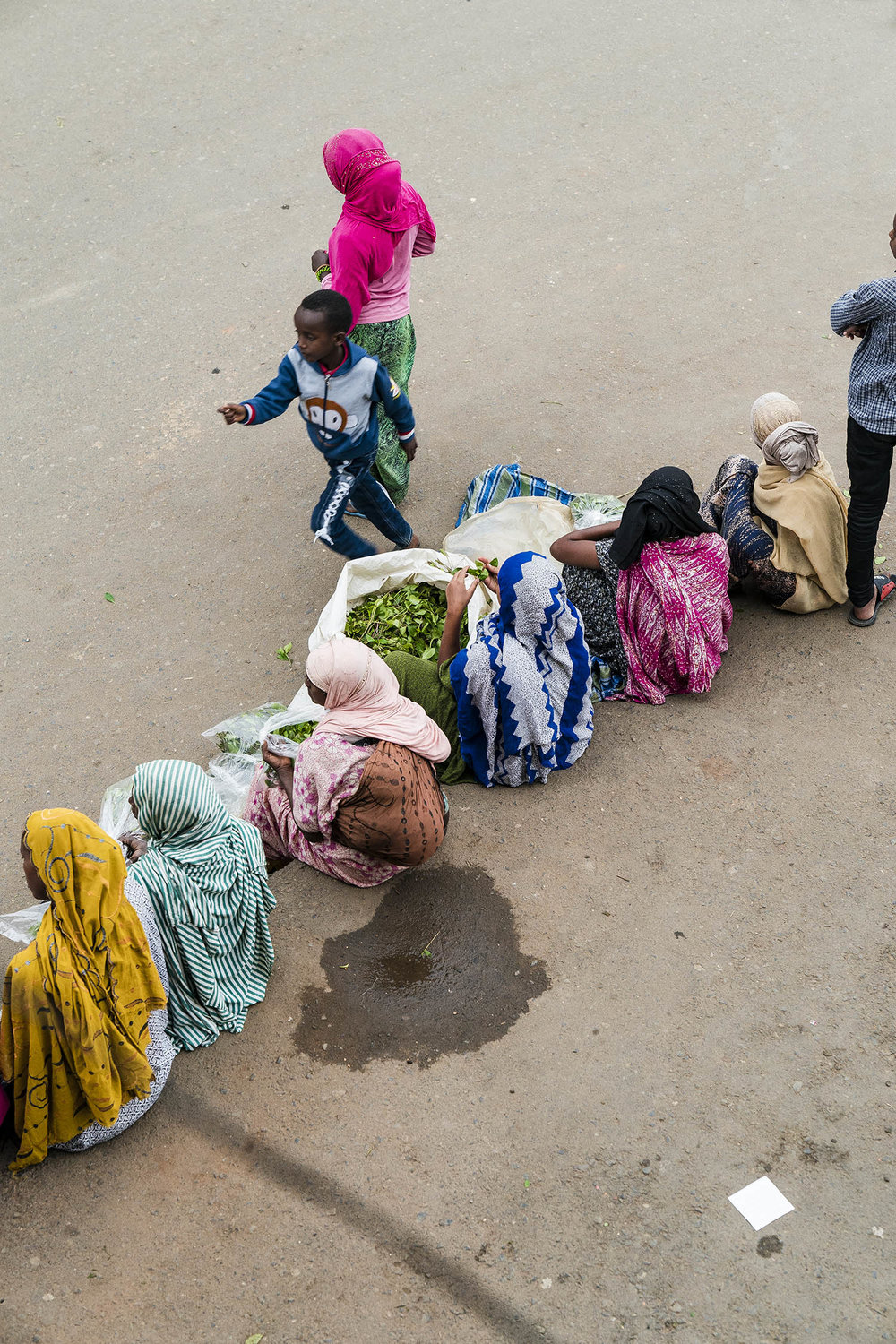 chats street sellers ethiopia