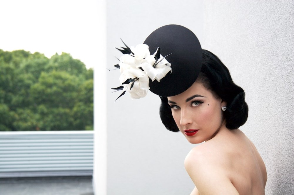 Dita von Teese IV, Watermill Center, Southhampton, New York, 2007 © Michael Angelo.jpg