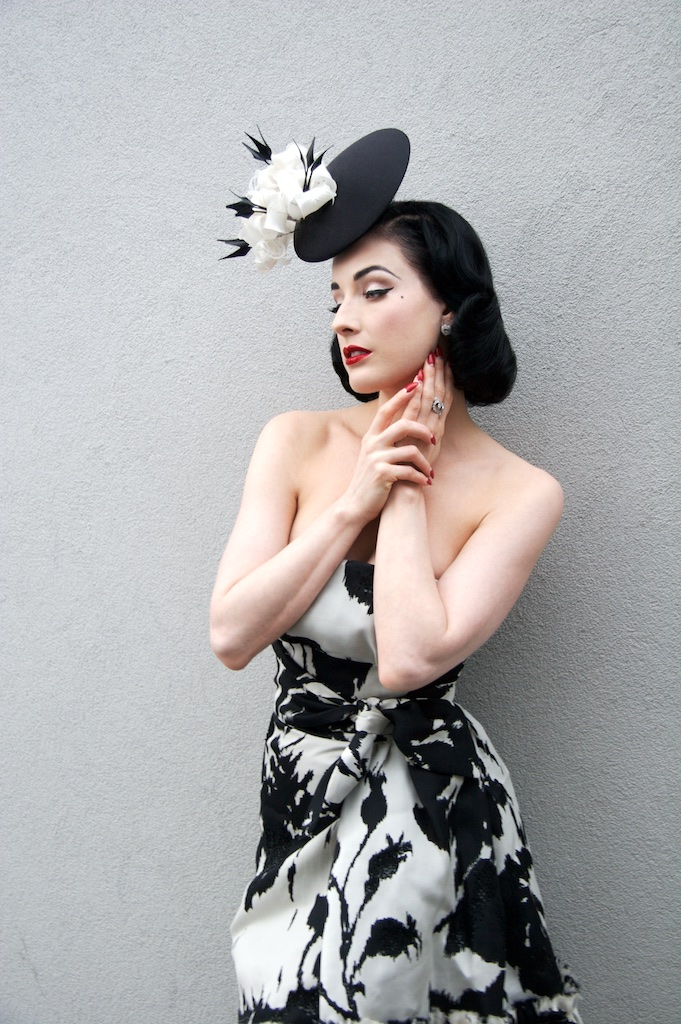 Dita von Teese III, Watermill Center, Southhampton, New York, 2007 © Michael Angelo.jpg