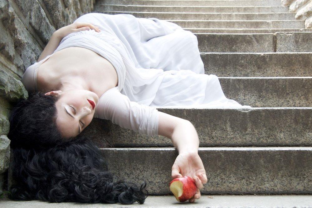 Helen Armide as Snow White, Central Park, New York City, 2008 © Michael Angelo.jpg