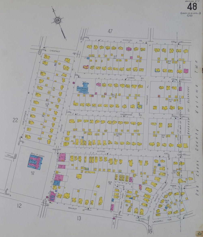 1934 Sanborn Fire Insurance Map