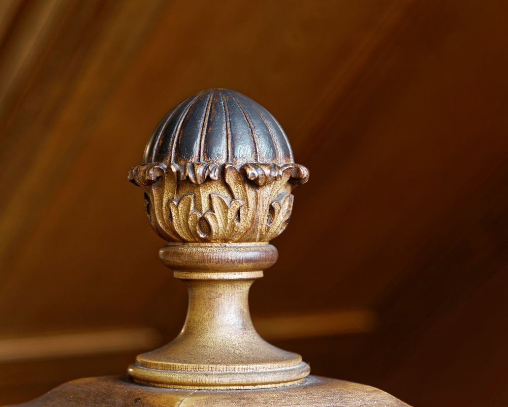 Finial at the Shultz House.  Photo Credit: Jack Spear Photography, LLC