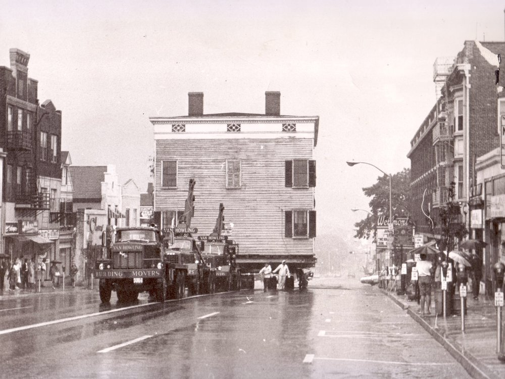 195 Move of the Crane House on Bloomfield Avenue