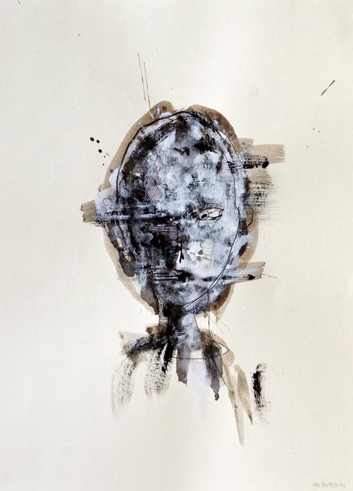 "Nicolai Huch, ""o.T."", 25,8 x 35,6 cm, 2015"