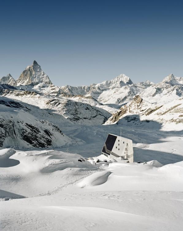Bearth & Deplazes Architekten, Studio Monte Rosa, New Monte Rosa Hut, Zermatt (VS), 2009 © Tonatiuh Ambrosetti