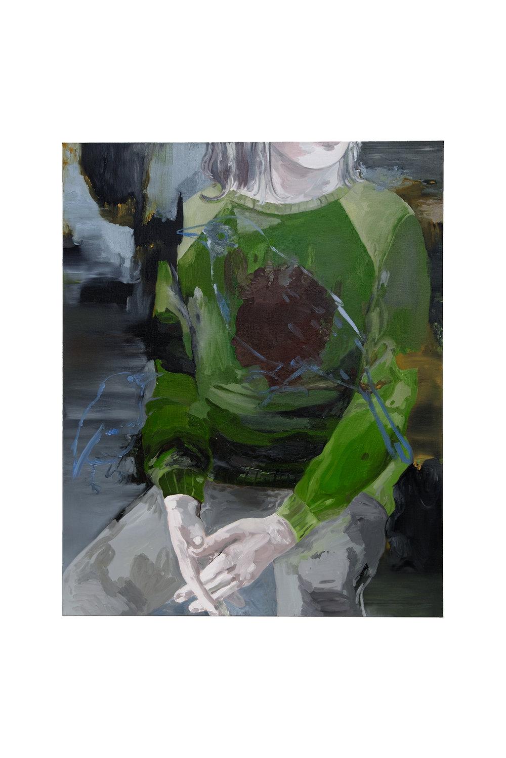 """Françoise Pétrovitch, """"Verdure"""", 130 x 160 cm, 2016"""