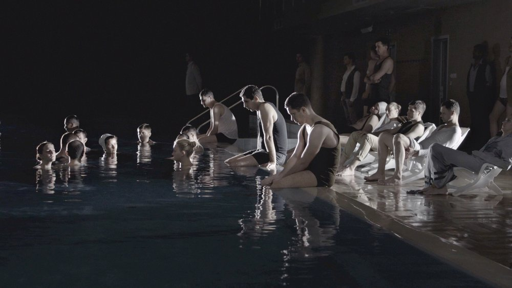 "Polina Kanis, ""The Pool"", Video HD, 9'41'', 2015, 5 éds. (Still)"