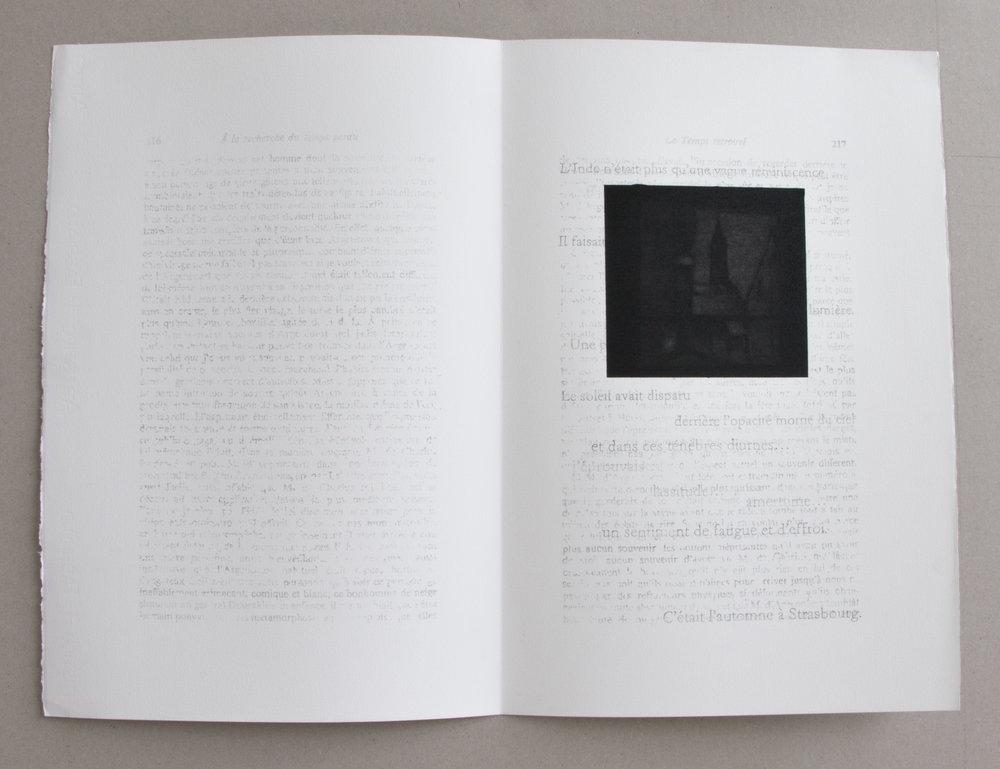 """Jérémie Bennequin, """"Strasbourg"""", fusain et graphite sur papier, 2016"""
