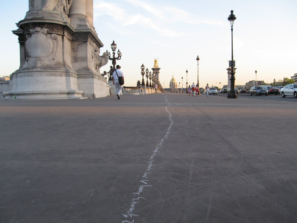 "Jean-Christophe Norman, ""Crossing Paris"", 2005"