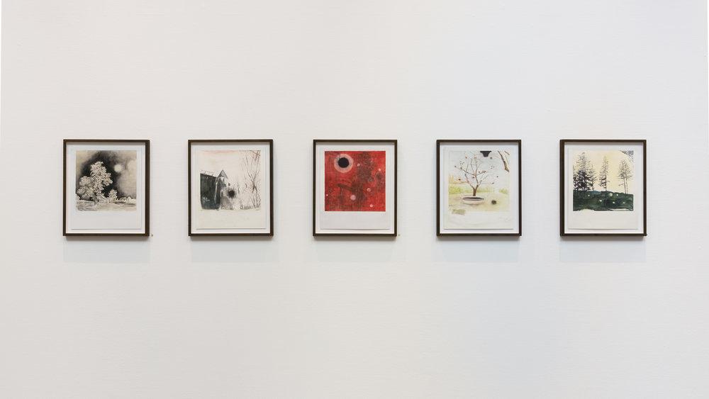 Vue d'exposition, Uwe Wittwer. © 2017 Galerie C, Suisse. Tous droits réservés.