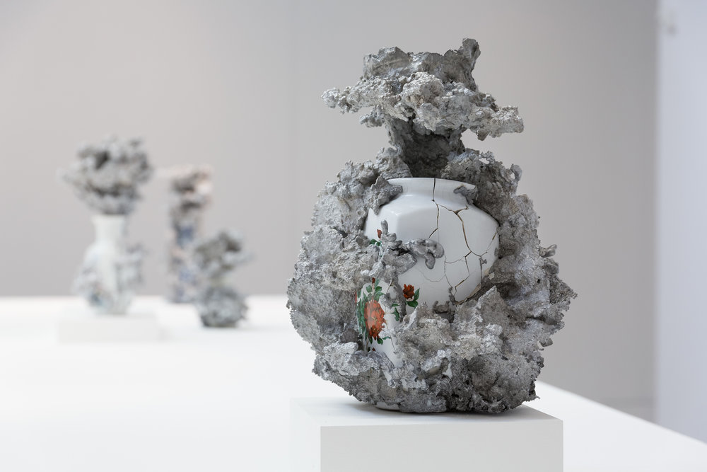 Vue d'exposition, Christian Gonzenbach. © 2017 Galerie C, Suisse. Tous droits réservés.