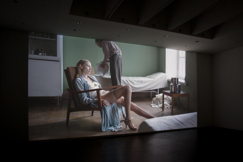 Vue d'exposition, Polina Kanis. © 2017 Galerie C, Suisse. Tous droits réservés.