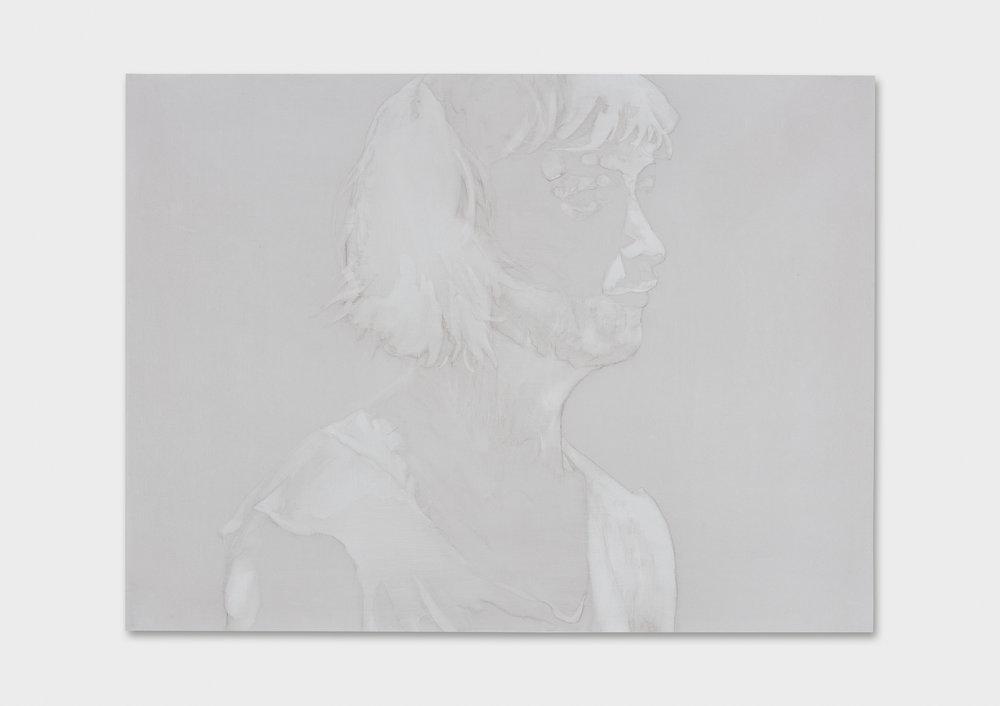 "Michael Rampa, ""Swipe 8"", aquarelle sur papier, 56 x 76 cm, 2017."