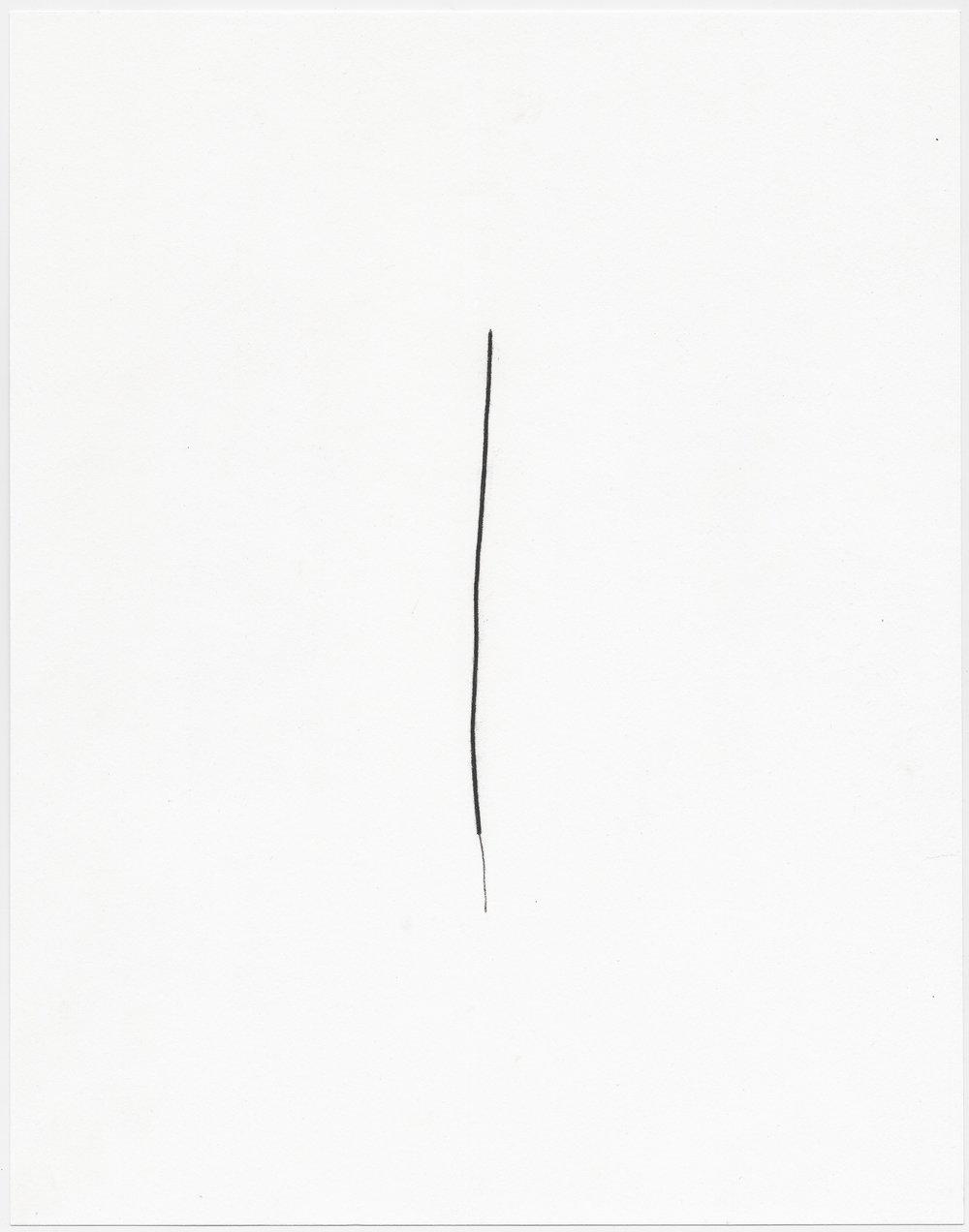 """© Sophie Jodoin, """"elle commence ici 19"""", fusain sur papier Stonehenge, 35,5 x 28 cm, 2018. Courtesy Galerie C"""