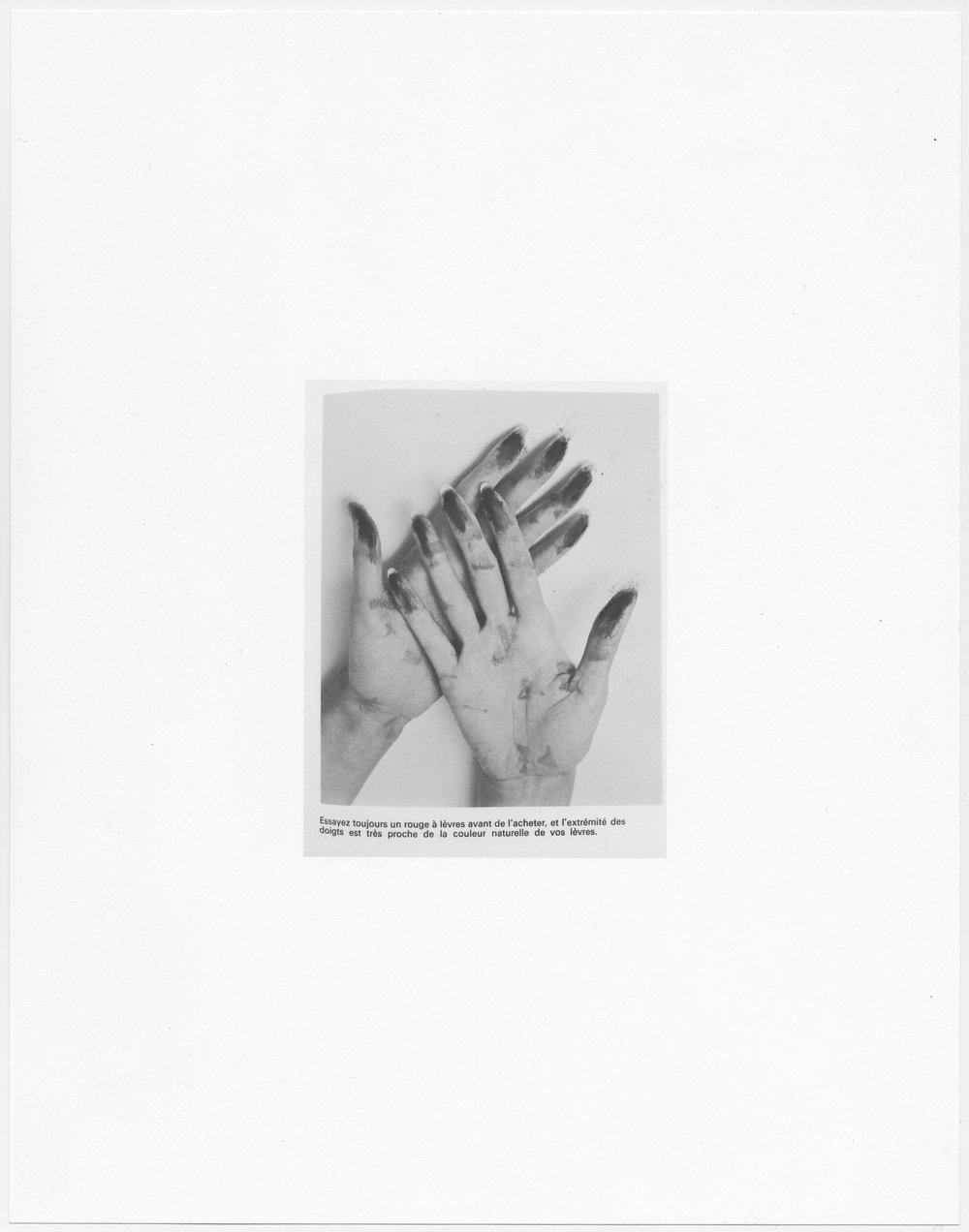 © Sophie Jodoin, %22elle commence ici 9%22, pastel et impression jet d'encre sur papier Stonehenge : charcoal and inkjet print on Stonehenge paper, 35,5 x 28 cm, 2015. Courtesy Galerie C.jpg