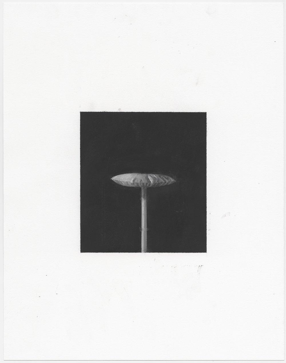 © Sophie Jodoin, %22elle commence ici 21%22, pastel et fusain sur papier Stonehenge : pastel and charcoal on Stonehenge paper, 35,5 x 28 cm, 2018. Courtesy Galerie C.jpg