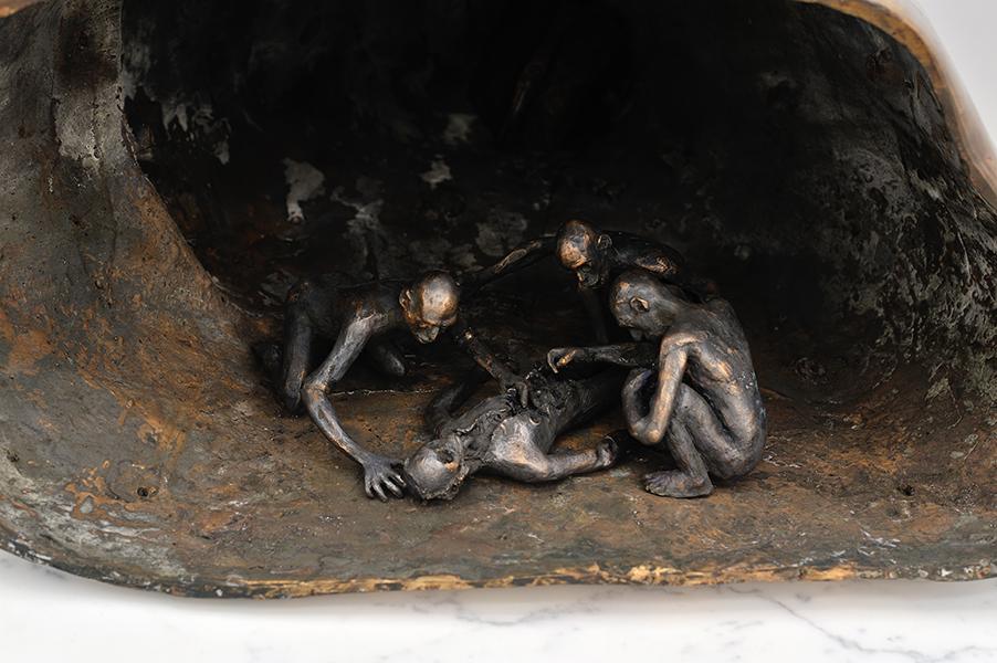 "Nicolas Darrot, ""Grande Ourse"", bronze, 80 x 100 x 70 cm."
