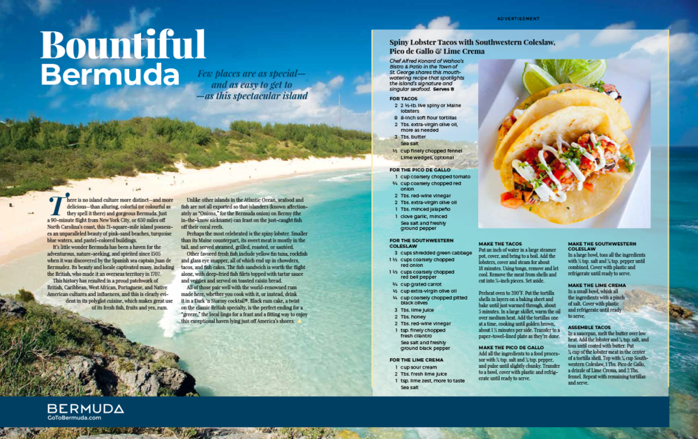 Bermuda Tourism Advertorial