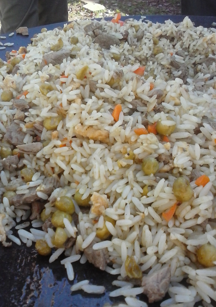 Steakhouse style fried rice
