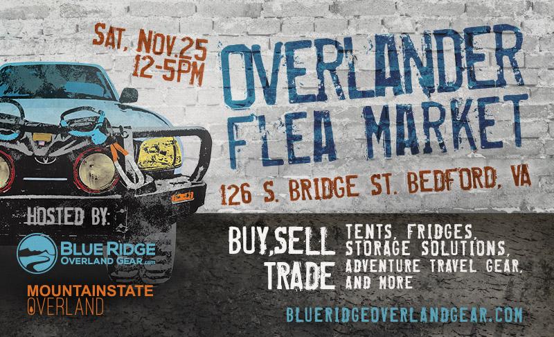 Overlander Flea Market - Nov. 25