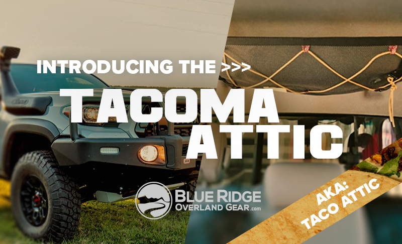 Introducing the 'Taco' attic - now live in the BROG shop!