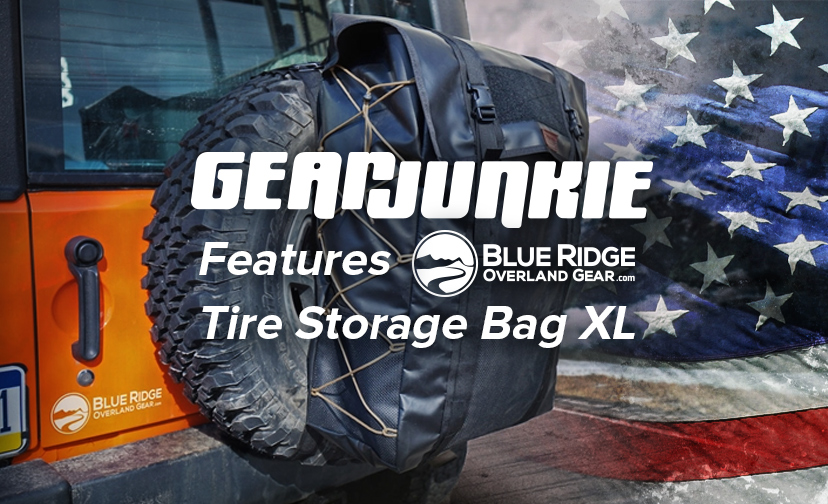 Blue Ridge Tire >> Gearjunkie Features Brog Tire Storage Bag Xl Blue Ridge Built