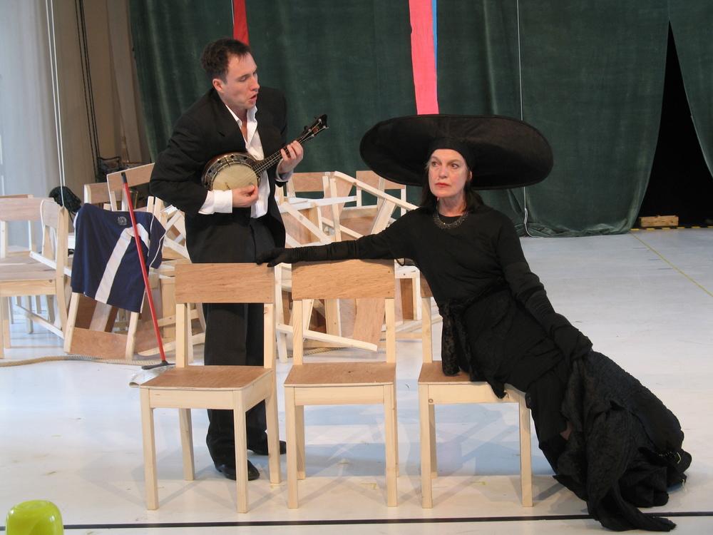 """Feste, ein Narr-""""Was Ihr Wollt""""-Regie: Peter Zadek"""