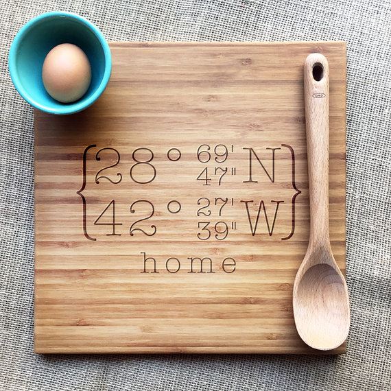 Dolce Home Engraved Cutting Boards ($37)