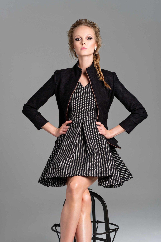 Austin Dress  |  Hamlet Wool Jacket