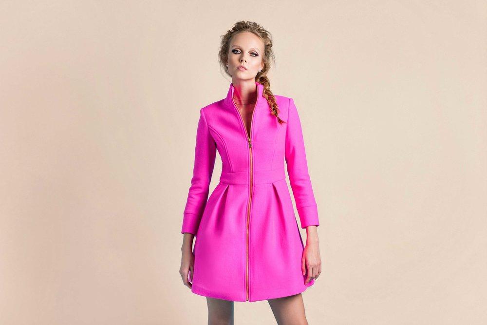 Hamlet Wool Coat  |  Wool Cropped Jacket