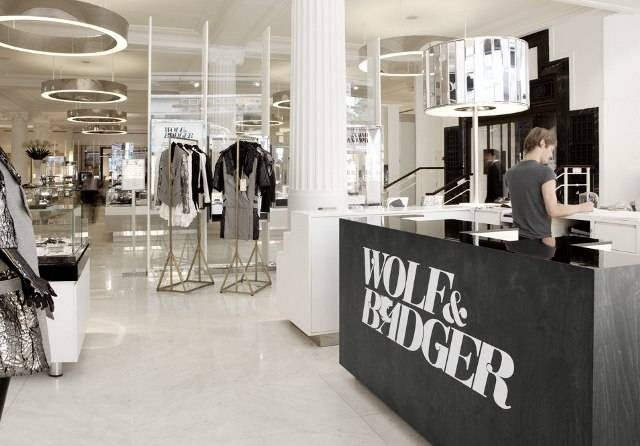 Wolf and Badger store interior