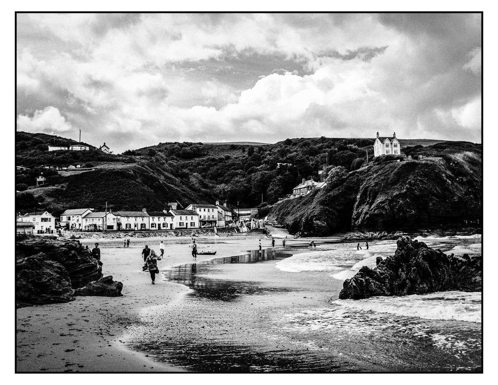 village of llangrannog - wales 2017