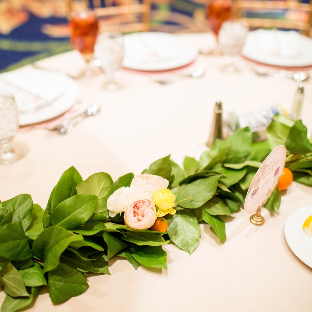 Citrus & Floral Luncheon