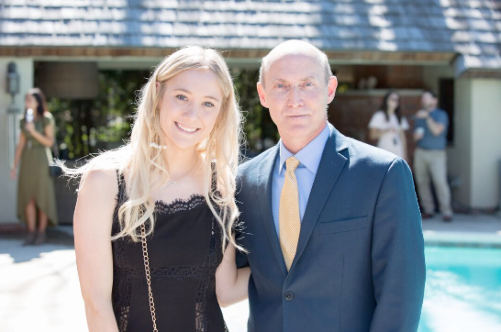 Amy Leuenhagen(Fashion Designer) and Phil Willoughby (CEO of KCFW)