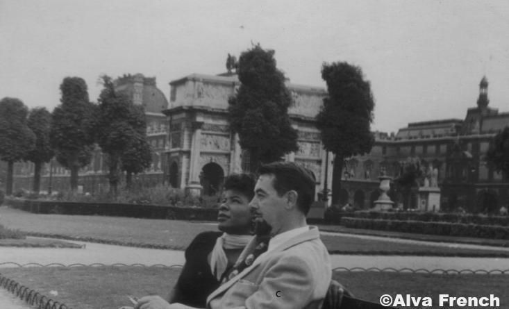Jardin des Tuileries, 1950
