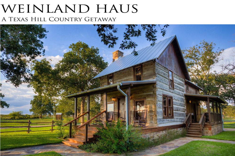 Weinland Haus   Fredericksburg, TX