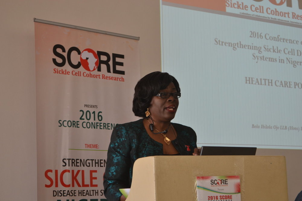 Mrs Bola Ojo   Experienced lawyer, project manager and NGO professional. Co-Founder, Sickle Cell Cohort Research.