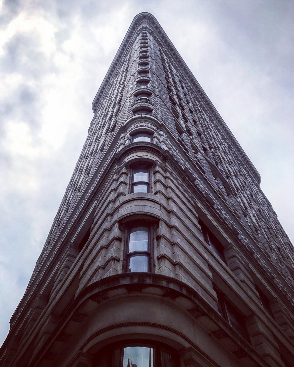 The beautiful and historic Flatiron Building.