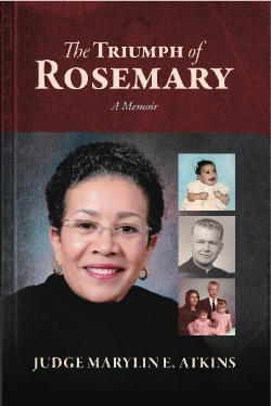 Baby Rosemary - born to an Italian teen and a married black man in Detroit in 1946 - is adopted from an agency by a black couple in Saginaw, Michigan The adoptive mother's abuse instills in the girl, whom they name Marylin Elnora, ambition to achieve great things on her own. At age 19, Marylin sparks a racial and religious scandal by marrying former Roman Catholic priest Thomas Lee Atkins, who is white and 25 years older. The Triumph of Rosemary's vivid dialogue, raw revelations, and heartwarming messages will make you laugh, cry, and appreciate the power of one woman to pioneer a place for herself and her family in a sometimes unwelcoming world that ultimately embraced and celebrated her family's legacy of colorblind love. - Contact Judge Atkins.