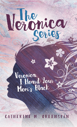 Book 1 in The Veronica Series. Veronica's mother is black, and her father is white, but she looks entirely white, not biracial. People at school start making a big deal about it, but nobody cared before she got to eighth grade. Why do they think it's their business? Even Veronica's best friend, Katie, who's white, acts weird sometimes, like when a black girl from school comes to the house to get her hair cut by Katie's mom.
