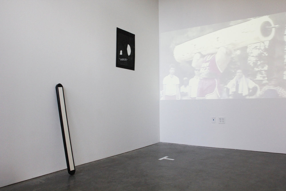 """Install shot from """"The Room"""" Exhibition"""