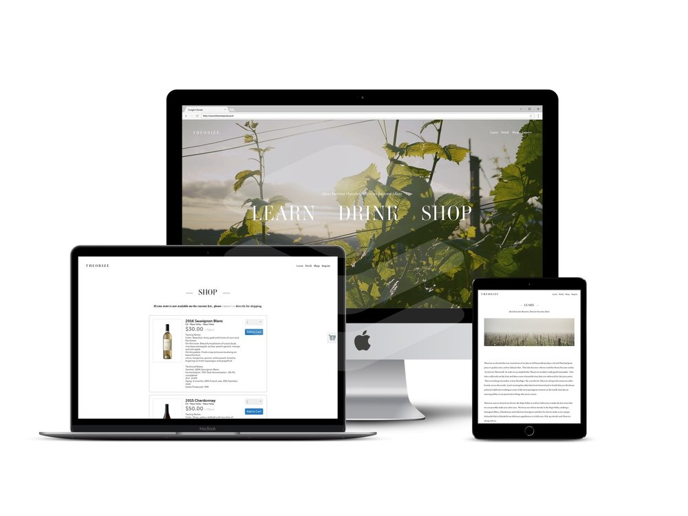 affordable winery web design