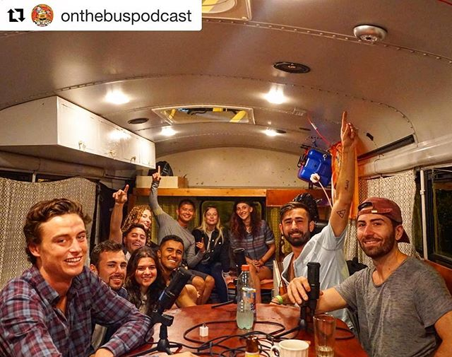 First live recorded show ON THE BUS with none other than our creative director Patrick Seymour, @ex_pats check the link in the bio .  Thanks to everyone who sat in and took part with this episode!