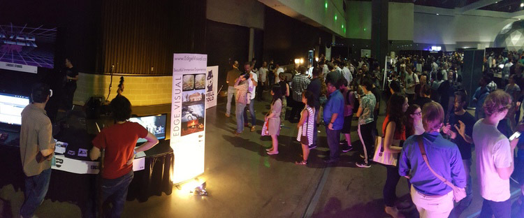 Edge Visual Booth at VRLA