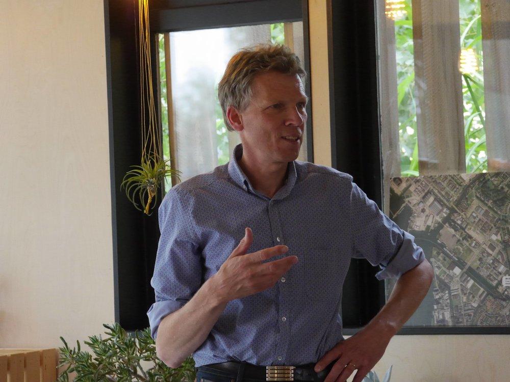 Stefan Blankenborg aan het woord