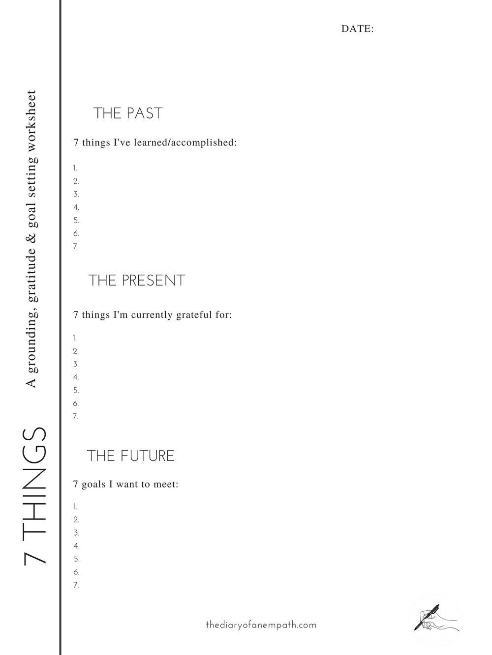 goal-setting-work-sheet